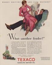 Orig Vintage Magazine AD/ 1930 Texaco Ad - $13.00