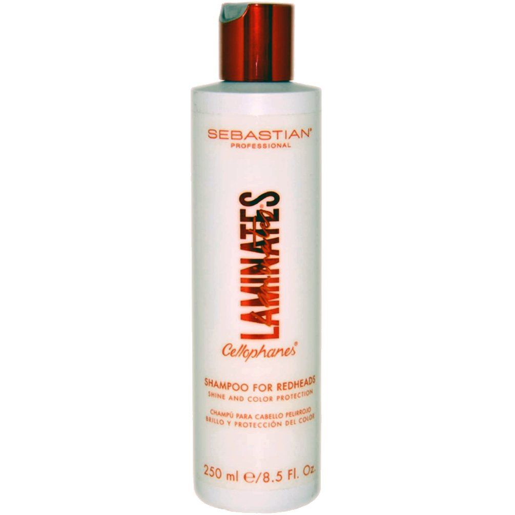 Primary image for SEBASTIAN Laminates Cellophanes SHAMPOO for Redheads 8.5 oz Color Shine Protect