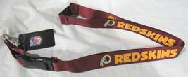 NFL NWT KEYCHAIN LANYARD- WASHINGTON REDSKINS - RED - $7.95
