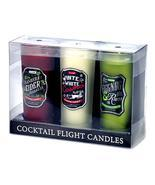 Holiday Cocktail Shotglass Candle Trio - $18.64 CAD