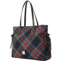 Dooney & Bourke Tartan Victoria Shoulder Bag Black