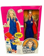 The Bionic Woman Action Figure Doll Jaime Sommers Kenner 1974 vtg box ni... - $494.95