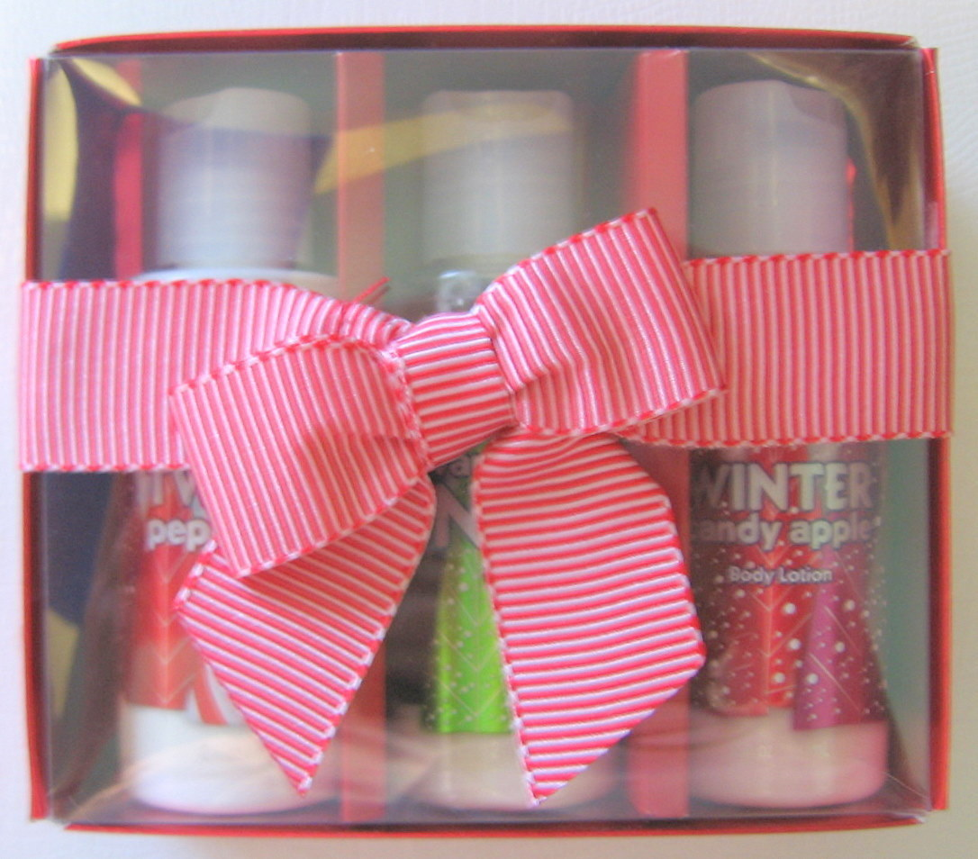 Bath & Body Works 3 Product Body Lotion Gift Kit