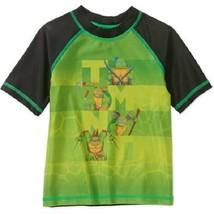 Teenage Mutant Ninja Turtles Toddler Boy Short Sleeve Swimwear Rashguard... - $9.79
