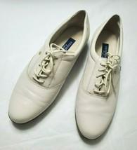 Easy Spirit Anti Gravity Women's Size 10 White Leather Shoes IO Motion 9 Vintage - $27.44