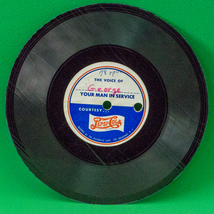 "Vintage WWII Pepsi Cola ""Your Man In Service"" 78RPM 6.5"" Record, Still P... - $5.95"