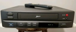 Zenith VCR VRM4120 VHS Player Recorder Tested and Working With Remote an... - $32.68