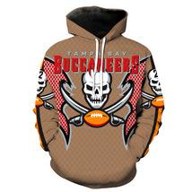 Vintage Tampa Bay Buccaneers Reebok NFL Team Hoodie Women Men Pullover Coats - $34.49