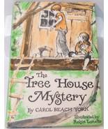 The Tree House Mystery by Carol Beach York HC 1973 chapter book - $3.95