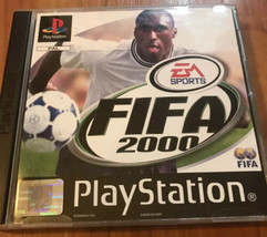FIFA 2000 [Sony PlayStation One PS1, 2001] EA Sports - $8.95