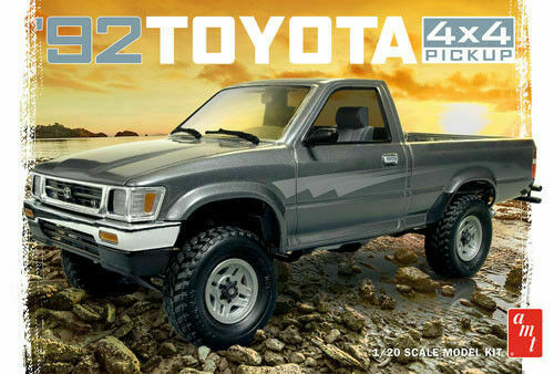 Primary image for AMT 1/20 '92 Toyota 4x4 Pick-Up Truck AMT1082 1992 Model Car Kit Brand New