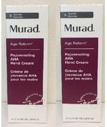 2 x Murad Youth Builder Rejuvenating AHA Hand Cream 75ml 2.65oz NEW BOX!   - $24.74