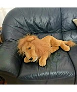 "Extra Large XL King of the Jungle Lion Plush Stuffed Animal Soft Toy 27"" - $129.99"