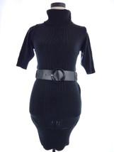 Womens Small XOXO Black Sweater Turtleneck Dress Small Sweaterdress - $24.00