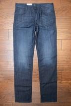 Hugo Boss Men's Albany Relaxed Fit Stretch Cotton Dark Blue Denim Jeans ... - $76.22