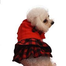 NACOCO Pet Sweet Princess Dress with Bow British Style Dog Cat Cute Swea... - $14.84