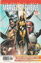 Marvel Previews #22 August 2005 Featuring The New Avengers [Comic] [Jan 01, 2005 - $4.89