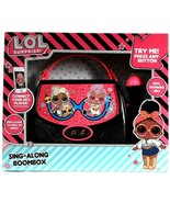 Tech 2 Go LOL Surprise Sing Along BoomBox With Built In Music & Real Mic... - $39.99