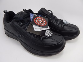 Skechers Work Relaxed Fit Sure Track Trickel Slip Resistant Shoes Size 9 M (B)