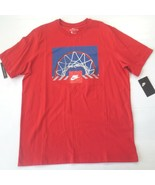 Nike Men Above the Rim Basketball Top Shirt - CU7638 - Red 657 - Size L ... - $19.99