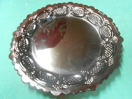 """Beautiful AVON... ROYAL RUBY RED ....BREAD Plate 7.25"""" - $9.49"""
