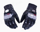 PRO-BIKER DXMS-02 Skid-Proof Full Finger Motorcycle Racing Gloves - Black (Pair