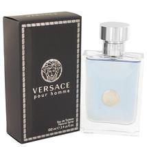 Versace Pour Homme Signature 3.4 Oz Eau De Toilette Cologne Spray image 5