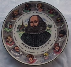 William Shakespeare -  Royal Doulton Collector Plate - T.C. 1041 VERY NICE - $25.00