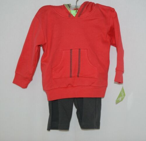 Snopea Sweat Suit 18 months Hoodie Pants Red Green Skateboard Theme