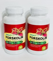 GREEN VIBE FORSKOLIN DIETARY SUPPLEMENT WITH 250MG OF PURE EXTRACT 60 Ca... - $14.84
