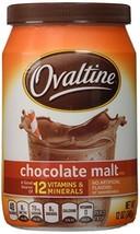 Ovaltine, Chocolate Malt Drink Mix 2 Pack - $24.47