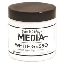 Dina Wakley Media Gesso 4oz Jar, White - $18.79
