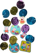 American Greetings Foil Swirl Decorations | Peppa (12-Count|Swirl Decora... - $7.82