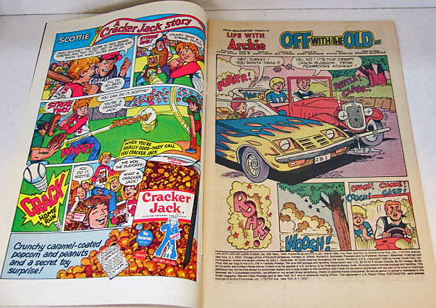 Life With Archie 25th Anniv Comic No238 1983 New Car