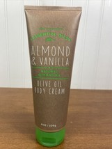Bath & Body Works Essential Oils ALMOND & VANILLA +Olive Oil 8oz Cream Lotion - $29.70
