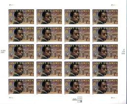 2004 James Baldwin Sheet of 20 US Postage Stamps Catalog Number 3871 MNH