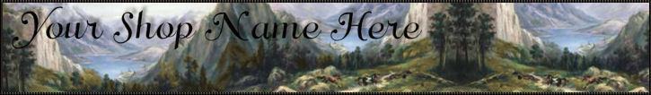 Autumn Web Banner Custom Created Design