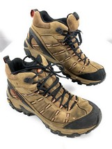 Merrell Outland Mid Waterproof Continuum Leather Hiking Boots Vibram Men's 12 US - $59.39