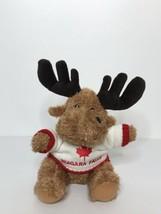 "Niagara Falls Moose Plush Creature Comforts Plush Toys 9"" Tall Sitting S... - $18.80"