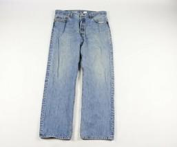 Vtg 90s Levis Men 36x32 501xx Straight Leg Button Fly Denim Jeans Pants ... - $44.50