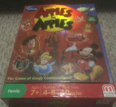 Apples To Apples Disney Edition Family Game Mattel 2009 with Instruction... - $16.43