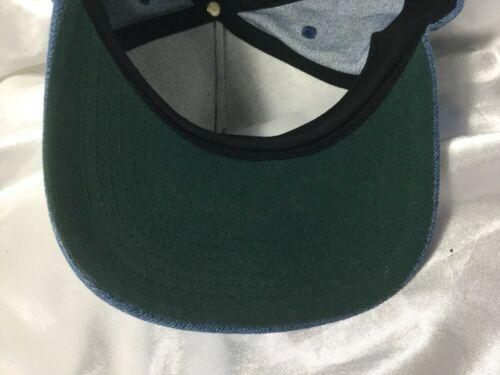 Vintage Denim Modern Welding Co. Cloth SnapBack Hat Cap Made In USA image 6