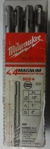 "MILWAUKEE 48-20-7551 3/8"" X 6"" SDS Plus Carbide Tip Masonry Hammer Drill Bit 20p - $56.42"