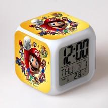 Super Mario #05 Led Alarm Clock Figures LED Alarm Clock - $25.00