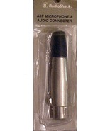 Switchcraft A3M 3-Pin XLR  Female, Cable Mount, Nickel Finish - $5.00