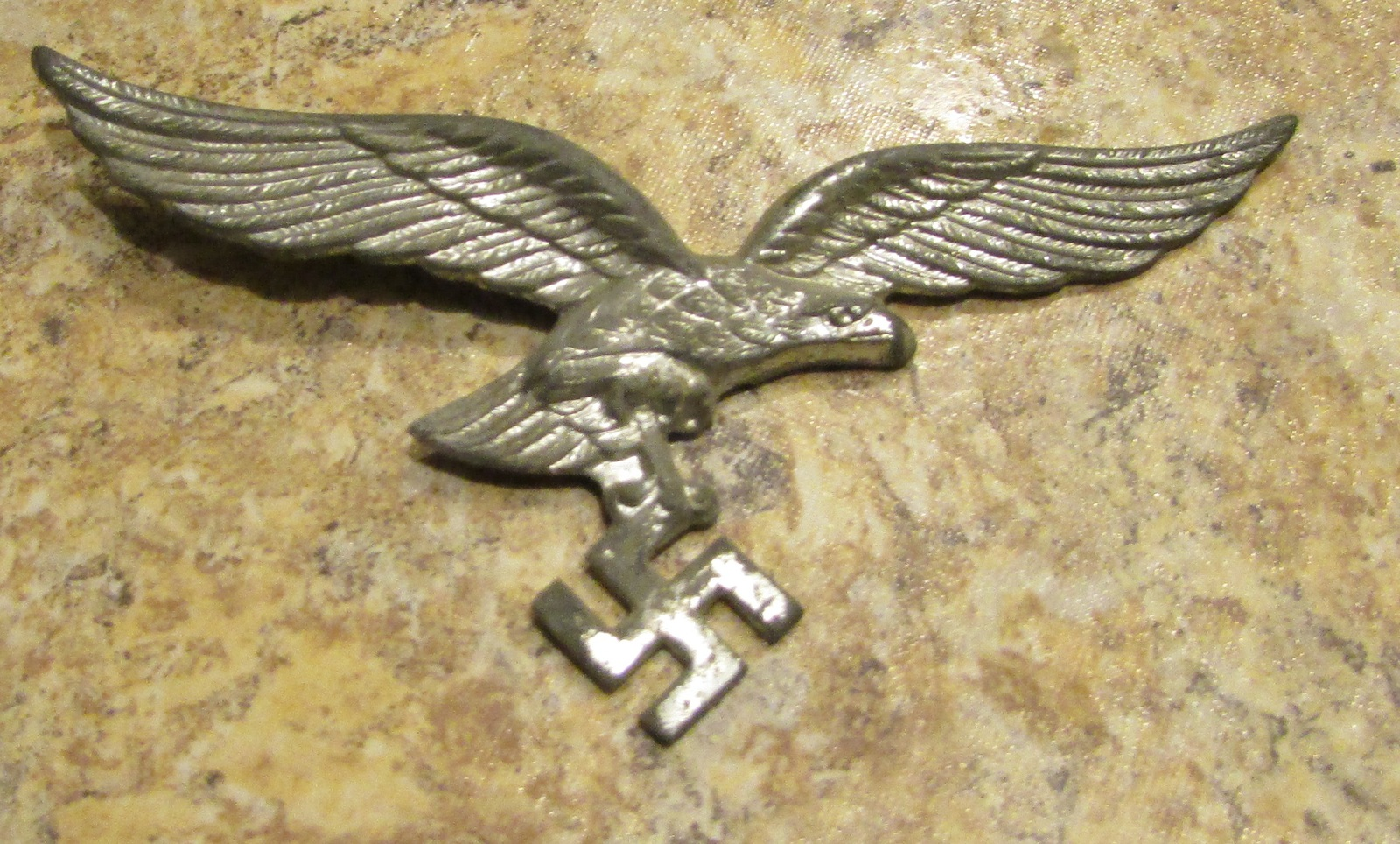 WW2 German Luftwaffe Officer Cap Eagle and 50 similar items