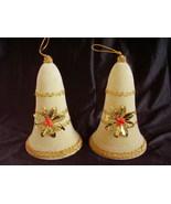 Vintage Hard Plastic Hanging Flocked Christmas ... - $36.00