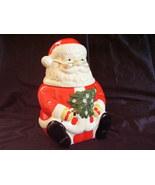 Gibson Santa Cookie Jar Christmas Tree - $46.00