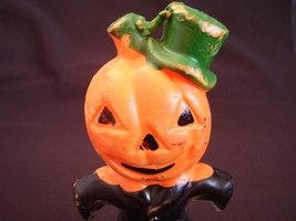 Gurley Jack O' Lantern Pumpkin Man Halloween Candle - $19.99