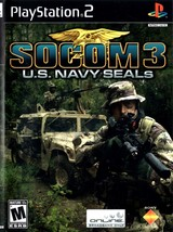 Playstation 2 - SOCOM 3 U.S. NAVY SEALS (Complete with Instructions) - $9.75